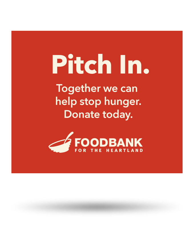 Food Bank of the Heartland Strike Out Hunger Swanson Russell